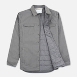 Мужская теплая рубашка Norse Projects Jens Ripstop Nylon Pewter фото- 1