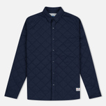Мужская теплая рубашка Penfield Kemsey Quilted Navy фото- 0