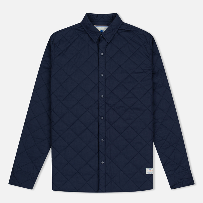 Мужская теплая рубашка Penfield Kemsey Quilted Navy