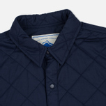 Мужская теплая рубашка Penfield Kemsey Quilted Navy фото- 1