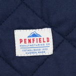 Мужская теплая рубашка Penfield Kemsey Quilted Navy фото- 4
