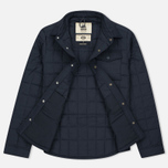 Мужская теплая рубашка Uniformes Generale Nakamura Ultra Light Down Quilted Super Marine Navy фото- 2