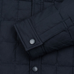 Мужская теплая рубашка Uniformes Generale Nakamura Ultra Light Down Quilted Super Marine Navy фото- 3
