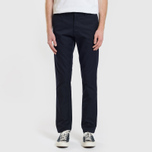 Мужские брюки Carhartt WIP Sid 8.6 Oz Dark Navy Rinsed фото- 1