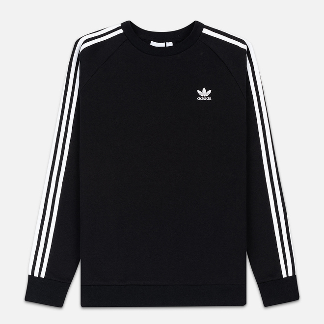 Мужская толстовка adidas Originals 3-Stripes Crew Black