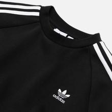 Мужская толстовка adidas Originals 3-Stripes Crew Black фото- 1