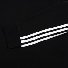 Мужская толстовка adidas Originals 3-Stripes Crew Black фото- 3