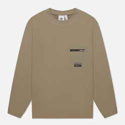 Мужская толстовка adidas Originals Crew Zip Pocket Clay