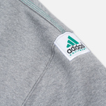 Мужская толстовка adidas Originals EQT Crew Grey/Green/Black фото- 5