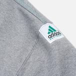 Мужская толстовка adidas Originals EQT Crew Grey/Green/Black фото- 5