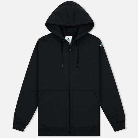 Мужская толстовка adidas Originals EQT Hodded Full Zip Black