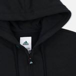 adidas Originals EQT Hodded Full Zip Men's Hoodie Black photo- 1