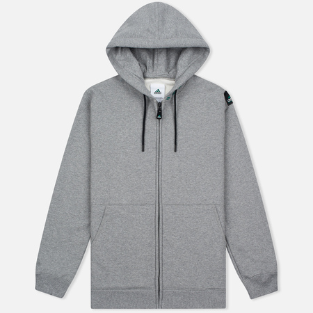 adidas Originals EQT Hodded Full Zip Men's Hoodie Grey