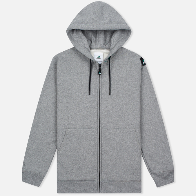 Мужская толстовка adidas Originals EQT Hodded Full Zip Grey