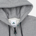 Мужская толстовка adidas Originals EQT Hodded Full Zip Grey фото- 1
