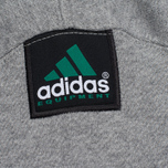 Мужская толстовка adidas Originals EQT Hodded Full Zip Grey фото- 3