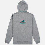 Мужская толстовка adidas Originals EQT Hodded Full Zip Grey фото- 4