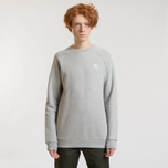 Мужская толстовка adidas Originals Essential Crew Medium Grey Heather фото- 1