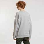 Мужская толстовка adidas Originals Essential Crew Medium Grey Heather фото- 3