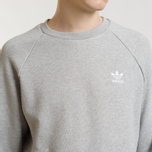 Мужская толстовка adidas Originals Essential Crew Medium Grey Heather фото- 2