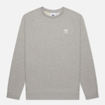 Мужская толстовка adidas Originals Essential Crew Medium Grey Heather фото- 0