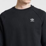 Мужская толстовка adidas Originals Essentials Crewneck Black фото- 4