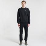 Мужская толстовка adidas Originals Essentials Crewneck Black фото- 1