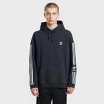 Мужская толстовка adidas Originals Lock Up Logo Hoodie Black фото- 1