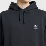 Мужская толстовка adidas Originals Lock Up Logo Hoodie Black фото- 2