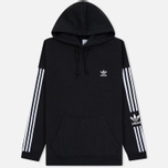 Мужская толстовка adidas Originals Lock Up Logo Hoodie Black фото- 0