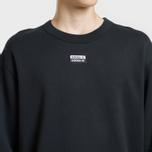 Мужская толстовка adidas Originals Reveal Your Vocal Crew Black фото- 2