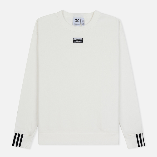 Мужская толстовка adidas Originals Reveal Your Vocal Crew Core White