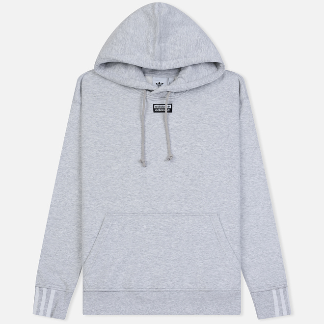 Мужская толстовка adidas Originals Reveal Your Vocal Hoodie Light Grey Heather