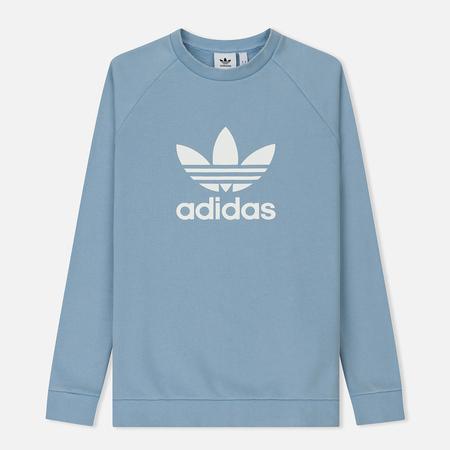 Мужская толстовка adidas Originals Trefoil Crew Ash Blue