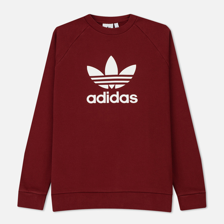 Мужская толстовка adidas Originals Trefoil Crew Rust Red