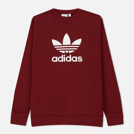 Мужская толстовка adidas Originals Trefoil Crew Rust Red