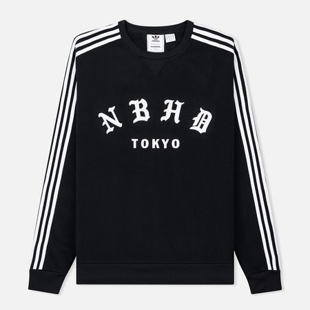 Мужская толстовка adidas Originals x Neighborhood Logo Tokyo Crew Black