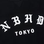 Мужская толстовка adidas Originals x Neighborhood Logo Tokyo Crew Black фото- 2