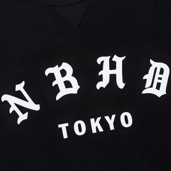 Мужская толстовка adidas Originals x Neighborhood Logo Tokyo Crew Black