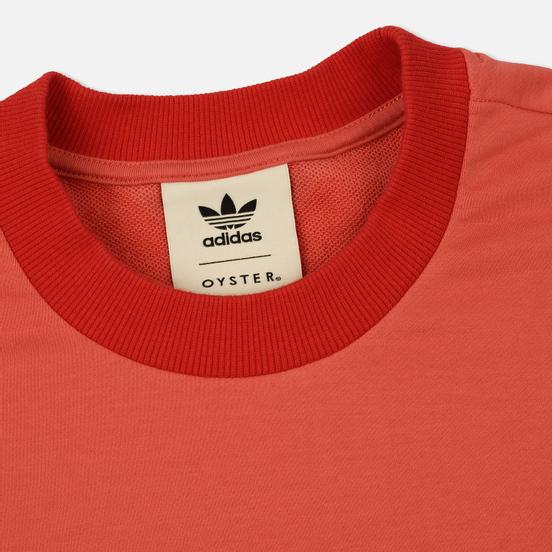 Мужская толстовка adidas Originals x Oyster Holdings XBYO Crew Trace Scarlet