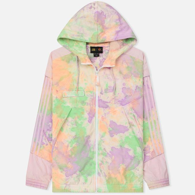 Мужская толстовка adidas Originals x Pharrell Williams Human Race Holi Full Zip Hood Multicolor/White