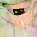 Мужская толстовка adidas Originals x Pharrell Williams Human Race Holi Full Zip Hood Multicolor/White фото- 2