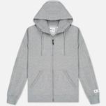 Мужская толстовка adidas Originals x Reigning Champ AARC FTFZ Hoodie Medium Grey Heather фото- 0