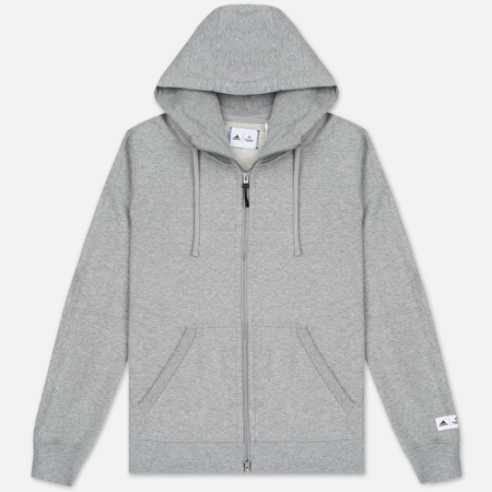 Мужская толстовка adidas Originals x Reigning Champ AARC FTFZ Hoodie Medium Grey Heather