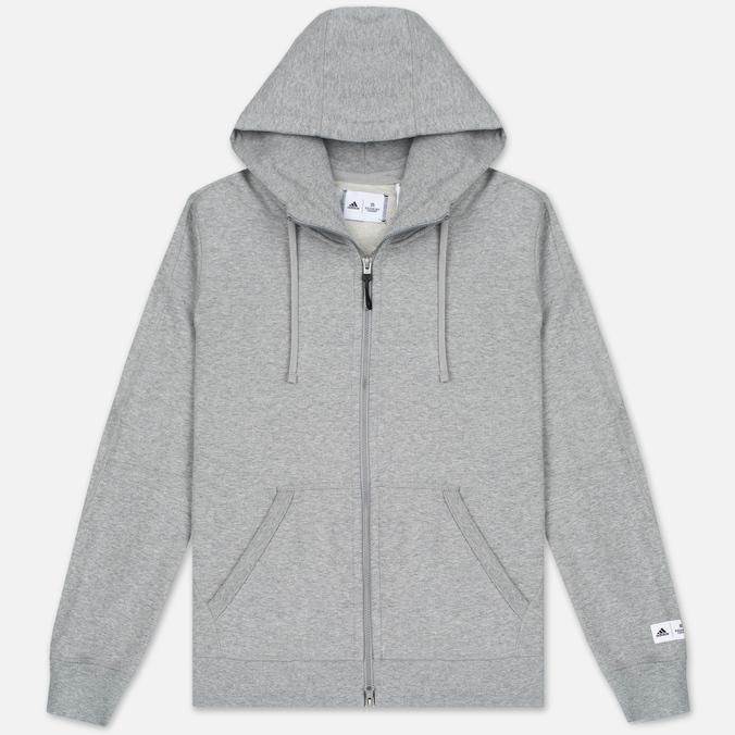 Мужская толстовка adidas Originals x Reigning Champ AARC FTFZ Hoodie Medium Grey Heather