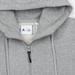 Мужская толстовка adidas Originals x Reigning Champ AARC FTFZ Hoodie Medium Grey Heather фото- 1