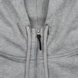Мужская толстовка adidas Originals x Reigning Champ AARC FTFZ Hoodie Medium Grey Heather фото- 2
