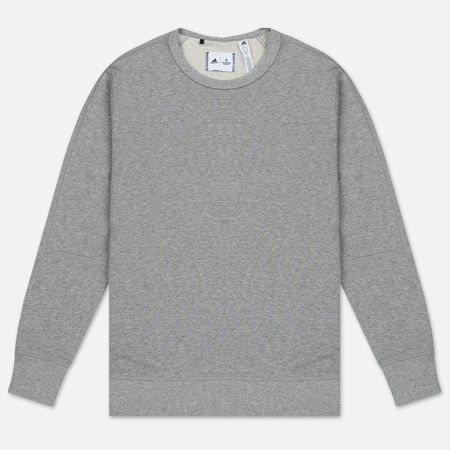 Мужская толстовка adidas Originals x Reigning Champ Engineered Spacer Mesh Crew Grey