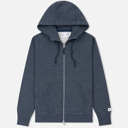 Мужская толстовка adidas Originals x Reigning Champ Fleece Hoodie Collegiate Navy/Colored Heather