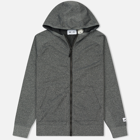 Мужская толстовка adidas Originals x Reigning Champ Primeknit Z.N.E. Hoodie Dark Grey Heather